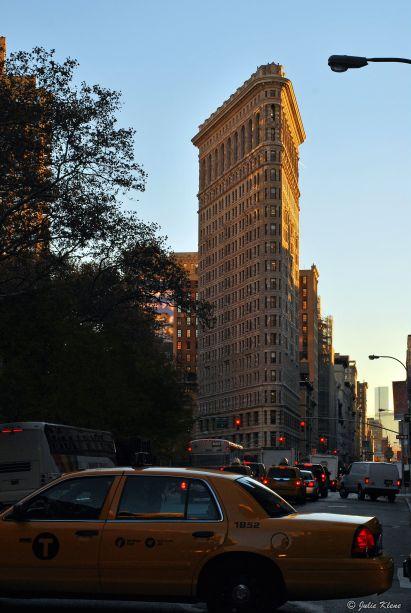 Flat Iron Building, NYC, USA