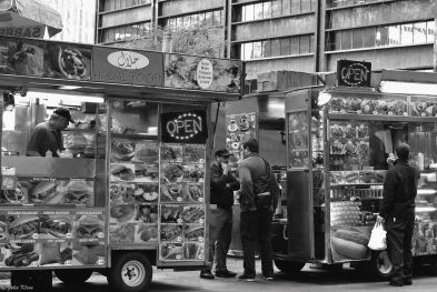 street vendors, NYC, USA