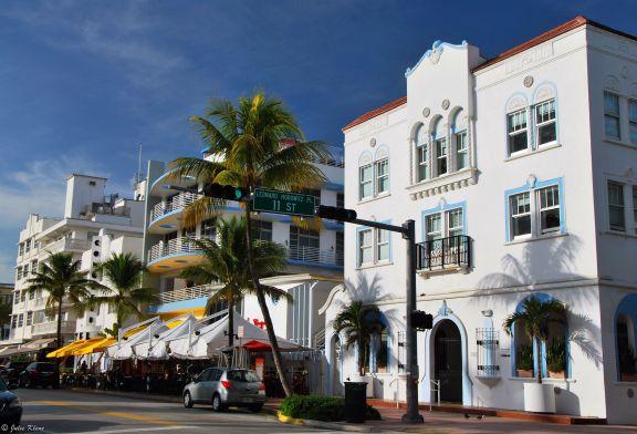 Ocean Drive, Miami, FL, USA