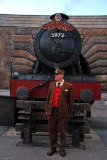 Hogwarts Express at Universal Studios, Orlando, FL, USA