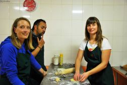 Cooking class, Puerto Natales, Chile