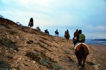 horseback-riding, Dorotea Mirador, Puerto Natales, Chile