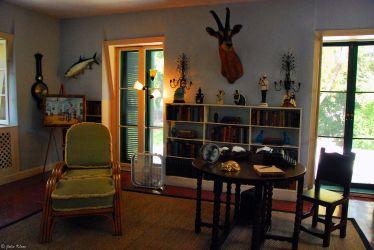 Hemingway's study, Key West, FL, USA