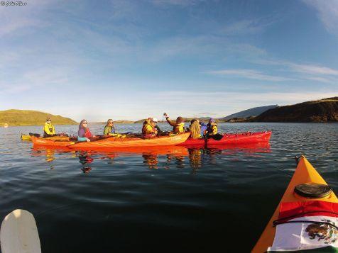 kayak trip, Puerto Natales, Chile