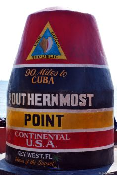 Southernmost point in the continental US, Key West, FL, USA