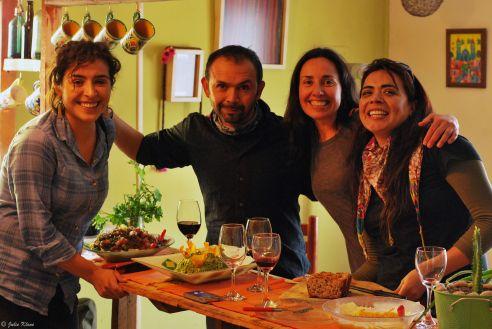 w/ Dayana, Vero & Marias - Jan. 2014