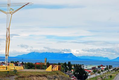 town view, Puerto Natales, Chile