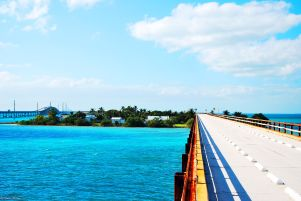 Old 7 mile Bridge, Marathon, FL, USA