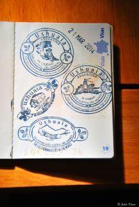 Ushuaia stamps