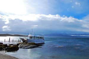 boating in the Beagle Canal, Ushuaia, Argentina