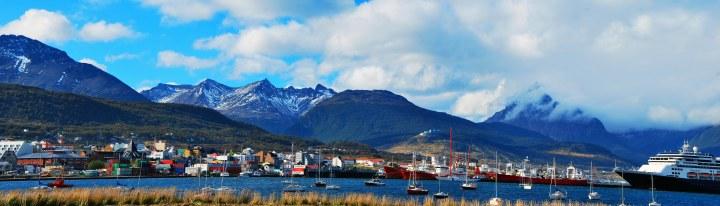 Bay of Ushuaia, Argentina