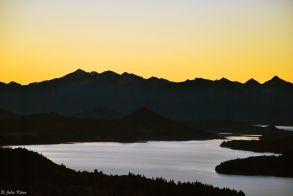 sunset on the lake, San Carlos de Bariloche, Argentina