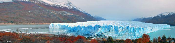 Panorama Glacier Perito Moreno, Argentina