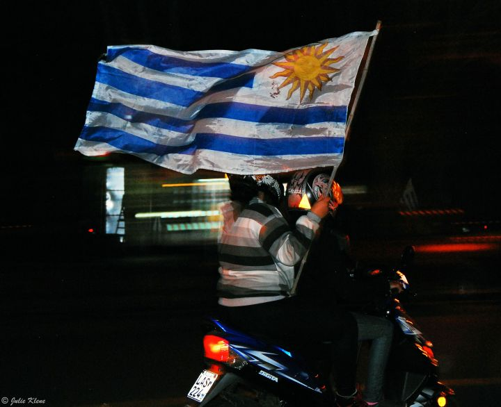 when Uruguay wins, Colonia, Uruguay