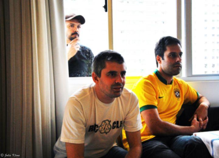 World Cup stress, Florianopolis, Brazil