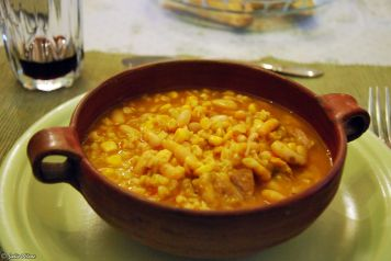 locro typical dish, Mendoza, Argentina