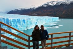 at Perito Moreno Glaciar, Argentina