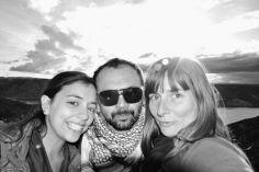 with Antonella & Rulo, Canyon del Atuel, San Rafael, Argentina