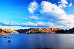 Lago Atuel, San Rafael, Argentina
