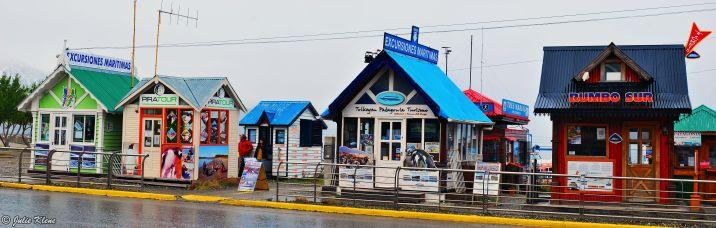 Boat Houses, Ushuaia, Argentina