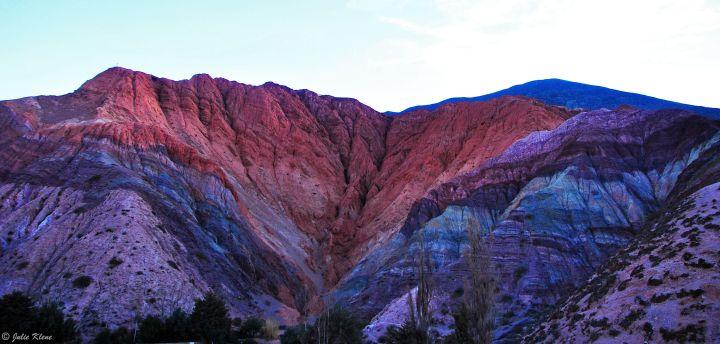 7 color Mountain, Purmamarca, Argentina