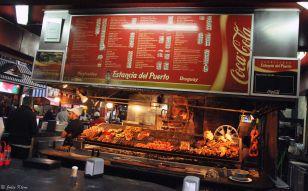Old Quarters Fish Market BBQ, Montevideo, Uruguay