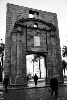 Old Entry Door to the city, Montevideo, Uruguay