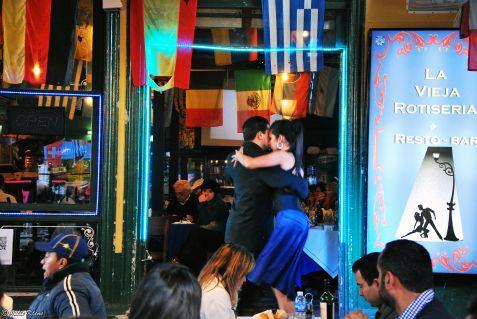 tango in La Boca, Buenos Aires, Argentina