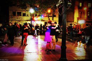 tango in San Telmo, Buenos Aires, Argentina