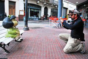 encounter with Mafalda, Buenos Aires, Argentina