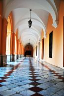 Monserrat School corridors, Cordoba, Argentina