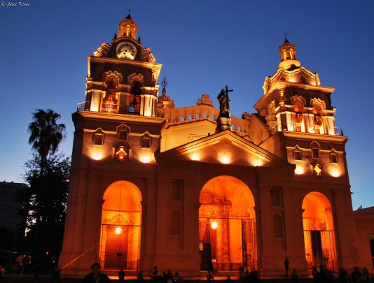 Cathedral in Cordoba, Argentina