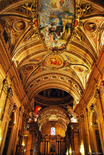 inside the Cathedral, Cordoba, Argentina