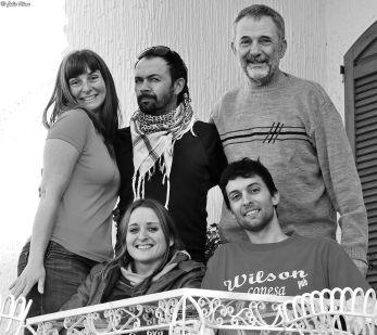 w/ Juan, Lautaro & Emilie - May 2014