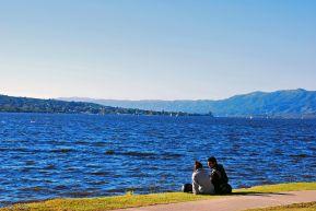 by the lake, Villa Carlos Paz, Argentina