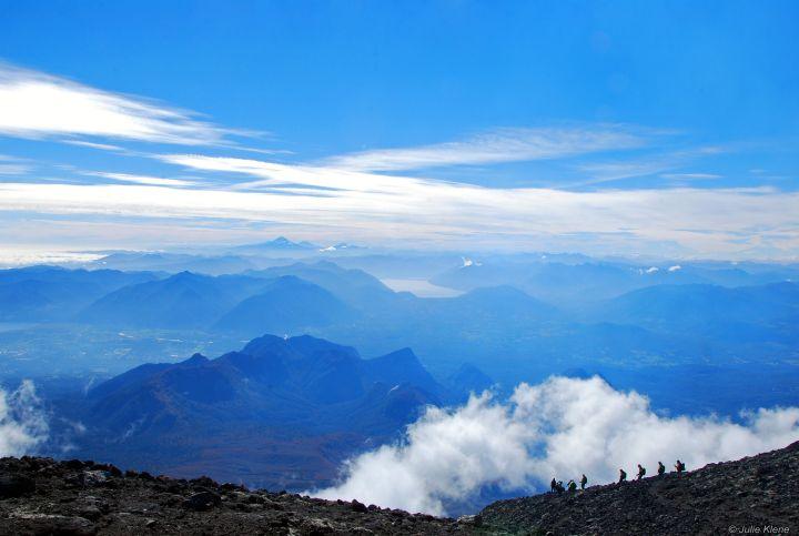 Climbing Villarica Volcano, Chile