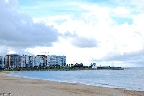 Pocitos Beach, Montevideo, Uruguay