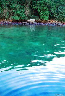 Green Lagoon, Ilha Grande, Brazil