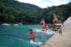 Caxadaço Cove, Ilha Grande, Brazil