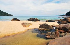 Parnaico beach, Ilha Grande, Brazil