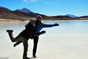 Laguna Honda, Uyuni Salt Flats, Bolivia