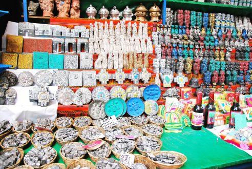 witch market, La Paz, Bolivia