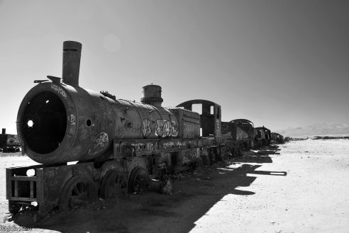 Train Cemetary, Uyuni Salt Flats, Bolivia