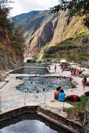 Santa Teresa hot springs, Peru
