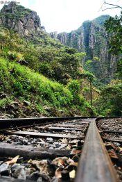 hike to Machu Picchu pueblo, Peru