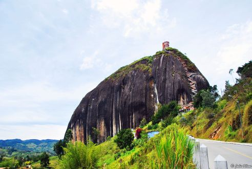 Penol Rock, Guatape, Colombia