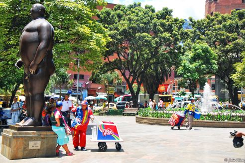 Plaza Botero, Medellin, Colombia