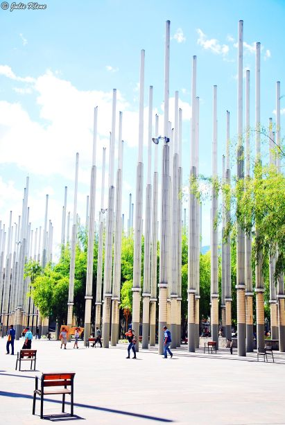 Park of the Lights, Medellin, Colombia