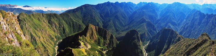 Machu Picchu panorama, Peru