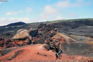 Sierra Negra Volcano, Galapagos islands, Ecuador